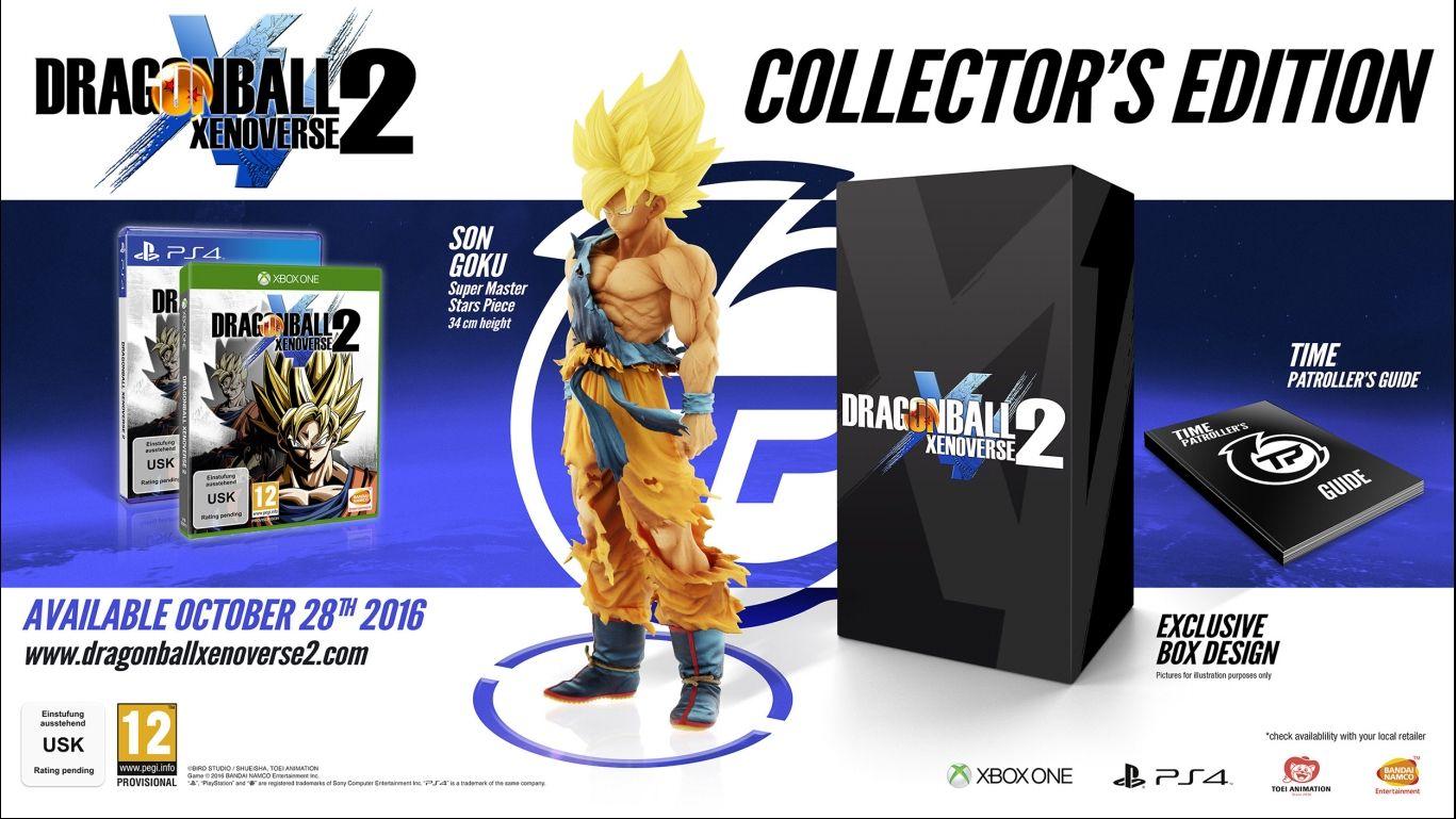 Коллекционное издание Dragon Ball Xenoverse 2 для Европы