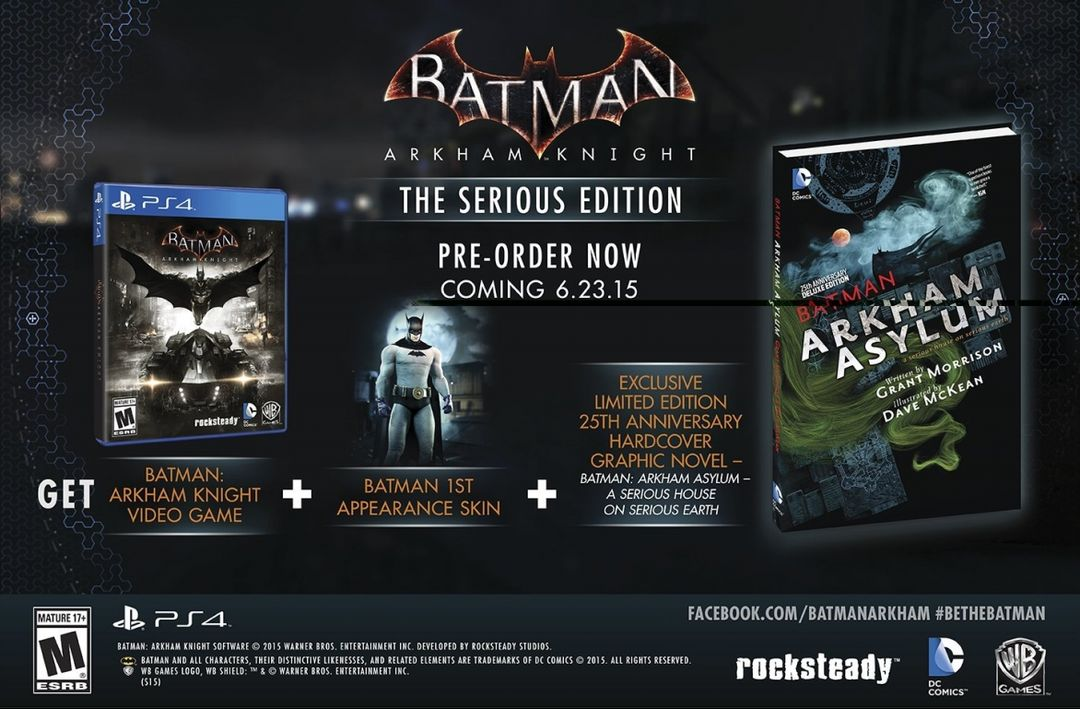 Batman Arkham Knight The Serious Edition