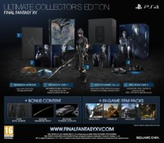 Final Fantasy XV. Ultimate Collector's Edition