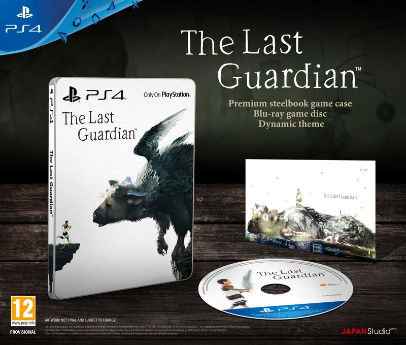 The Last Guardian Special Edition