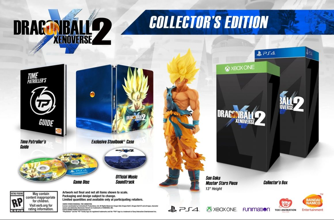 Dragon Ball Xenoverse 2 Collector's Edition для Америки