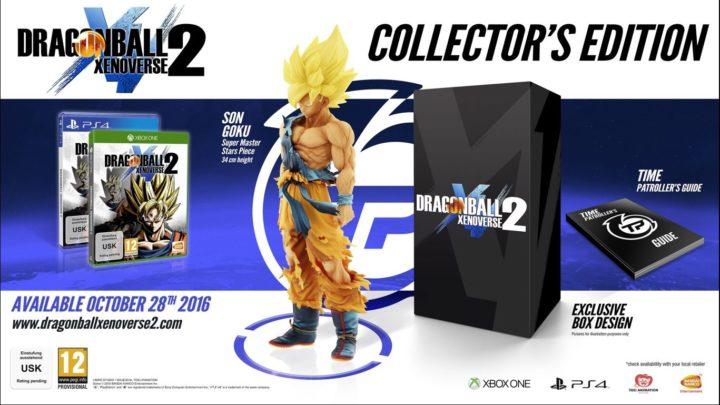 Dragon Ball Xenoverse 2 & коллекционные издания