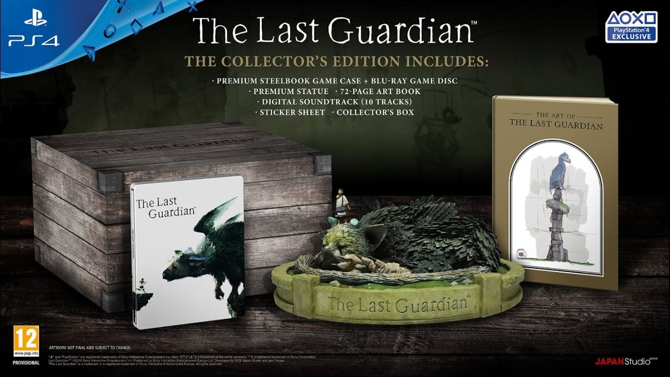 Коллекционное издание The Last Guardian (Последний Хранитель)