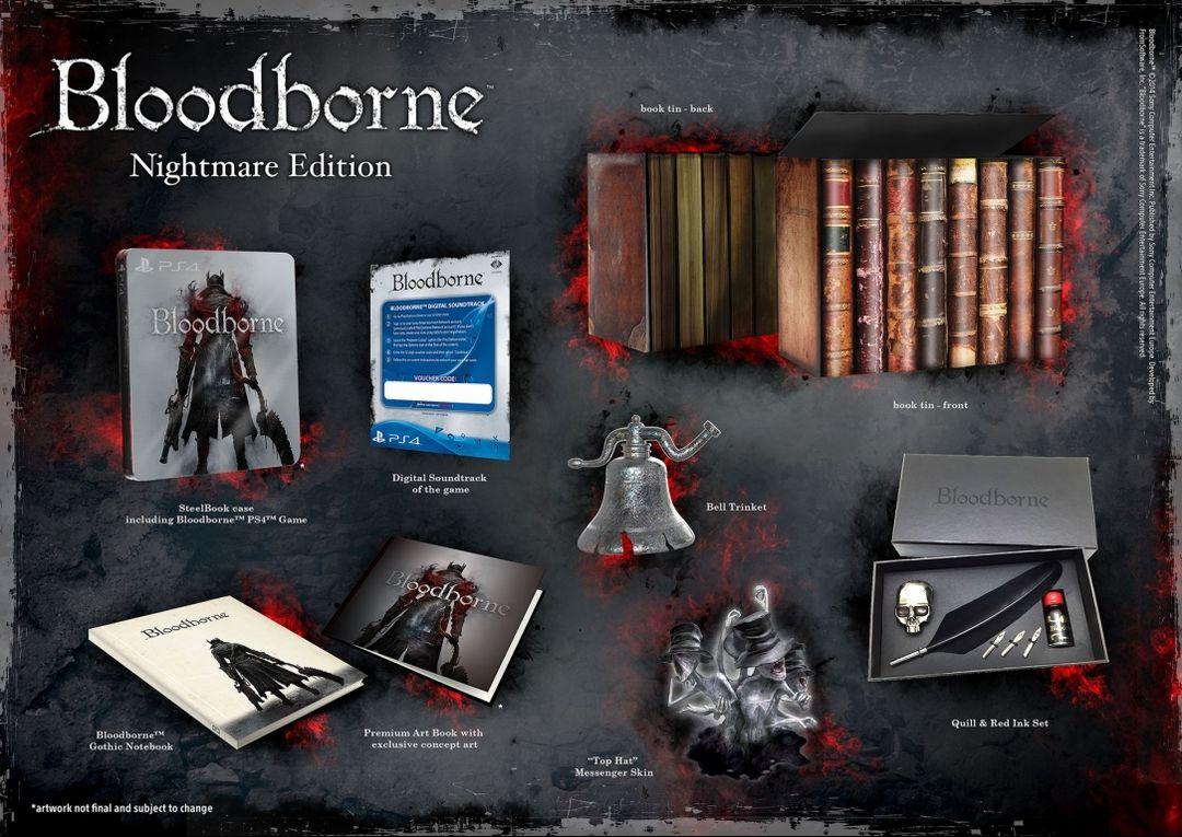 Коллекционное издание Bloodborne Nightmare Edition
