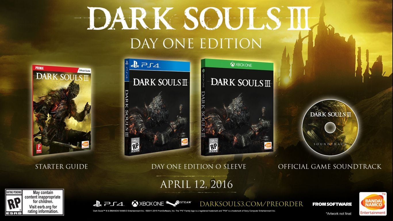 Dark Souls III Day One Edition
