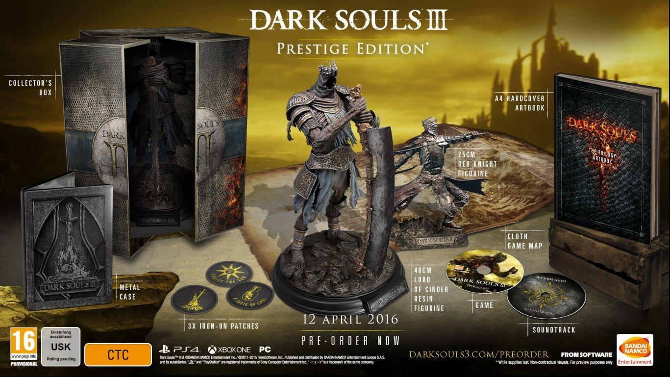 Коллекционное издание Dark Souls 3 Prestige Edition