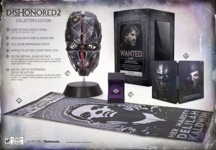 Dishonored 2 & коллекционные издания