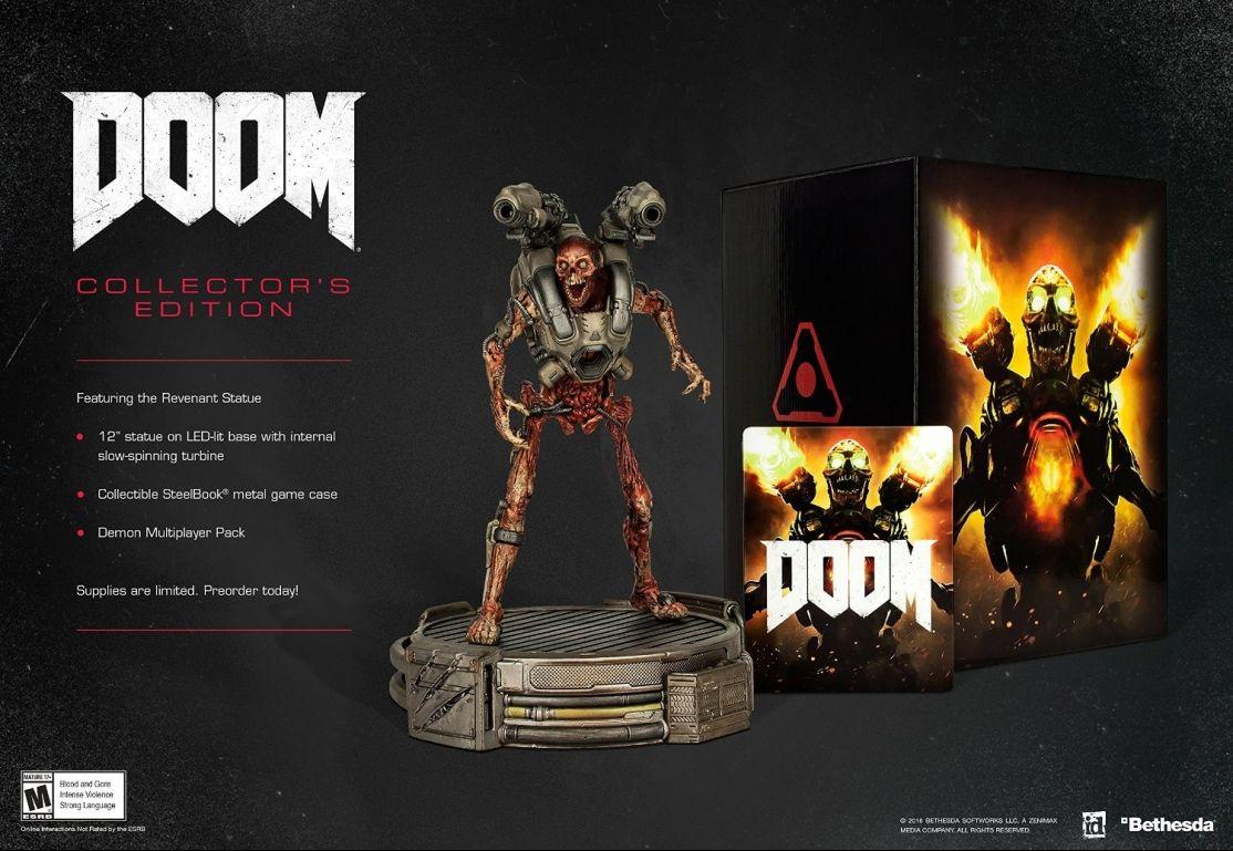 Коллекционное издание Doom (2016) Collector's Edition