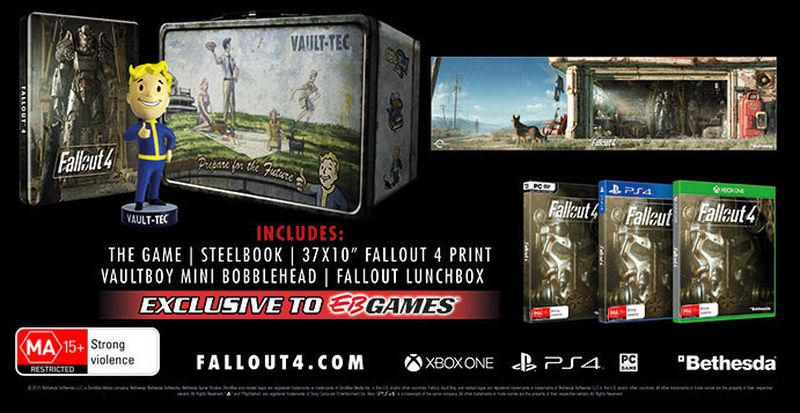 Fallout 4 EB Games Nuke Pack