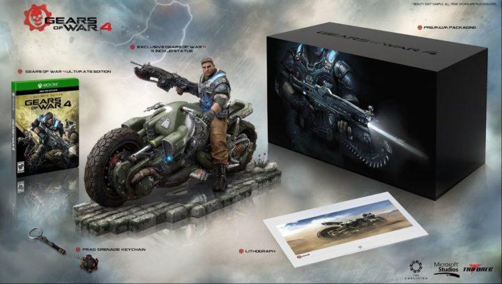 Gears of War 4 & коллекционные издания