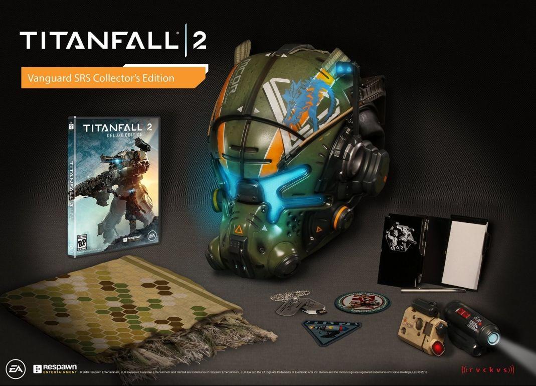 Коллекционное издание Titanfall 2 Vanguard SRS Collector's Edition