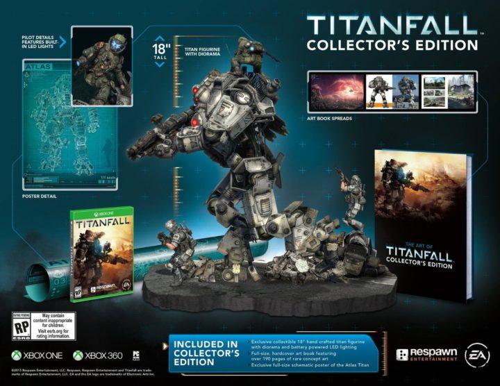 Titanfall & коллекционные издания