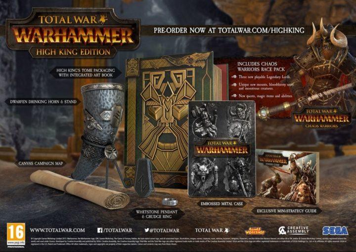 Total War Warhammer & коллекционные издания