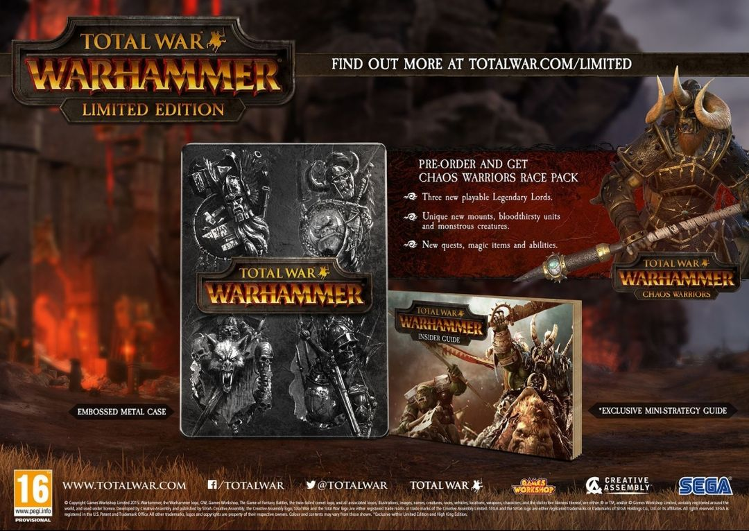 Total War Warhammer Limited Edition