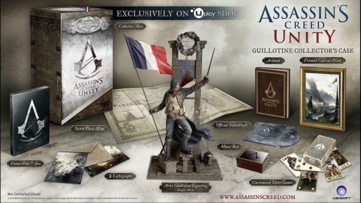 Assassin's Creed Unity & коллекционные издания