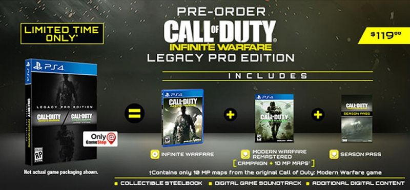 Коллекционное издание Call of Duty Infinite Warfare Legacy Pro Edition