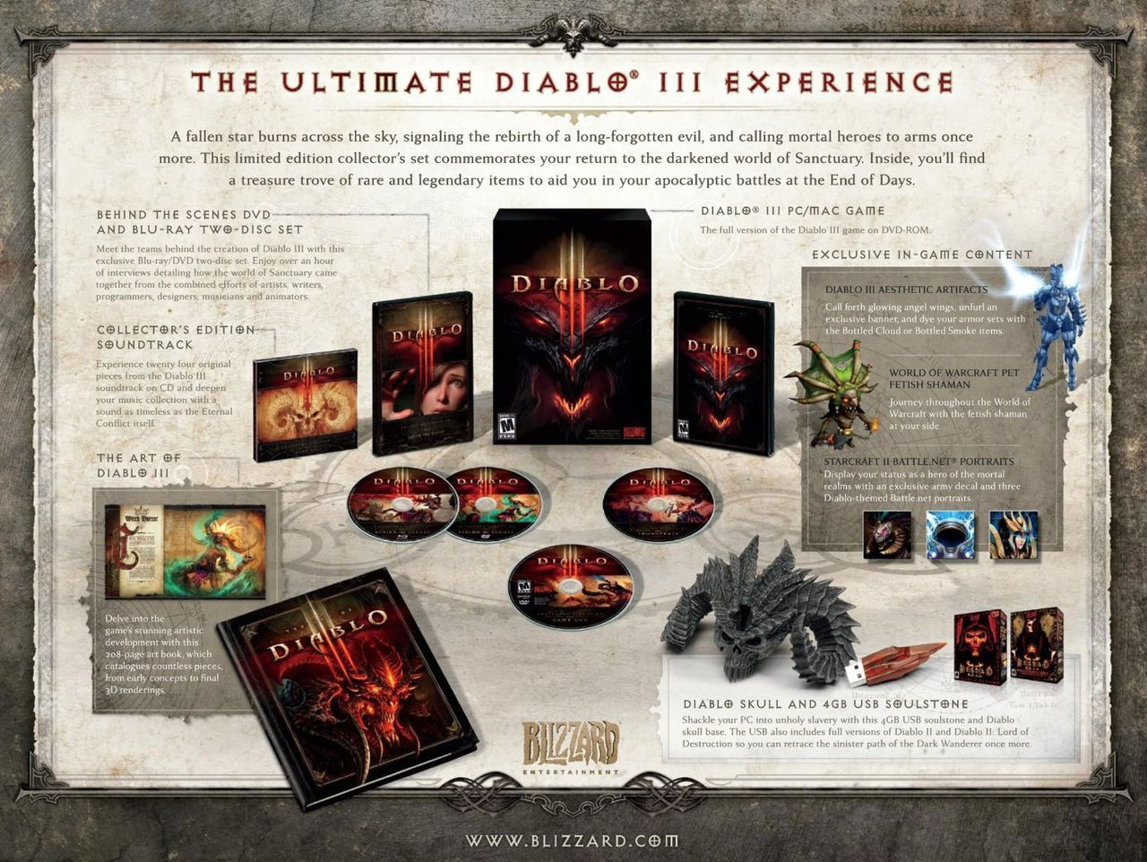 Коллекционное издание Diablo 3 Collector's Edition