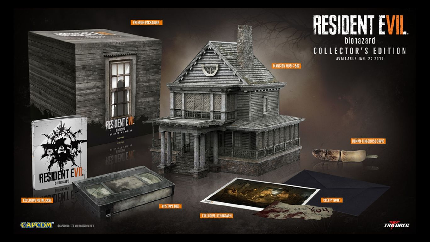 Коллекционное издание Resident Evil 7 Biohazard Collector's Edition (NTSC)