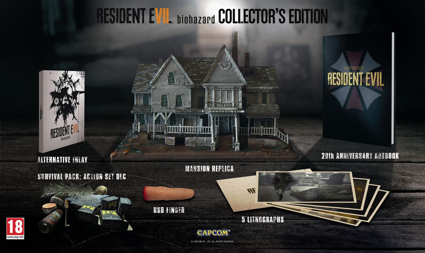 Resident Evil 7 Biohazard Collector's Edition (PAL)