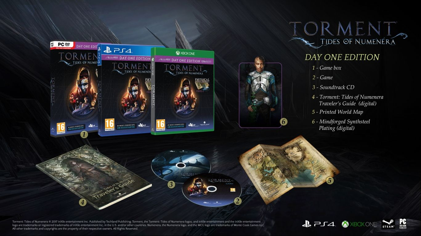 Torment Tides of Numenera Day One Edition