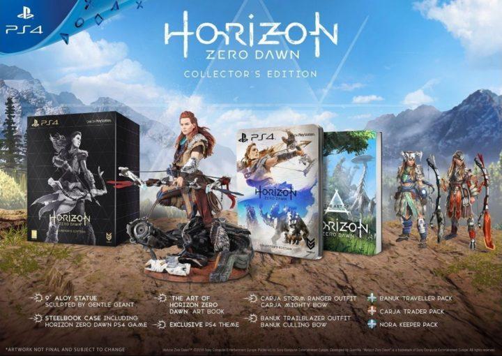 Horizon Zero Dawn & коллекционные издания