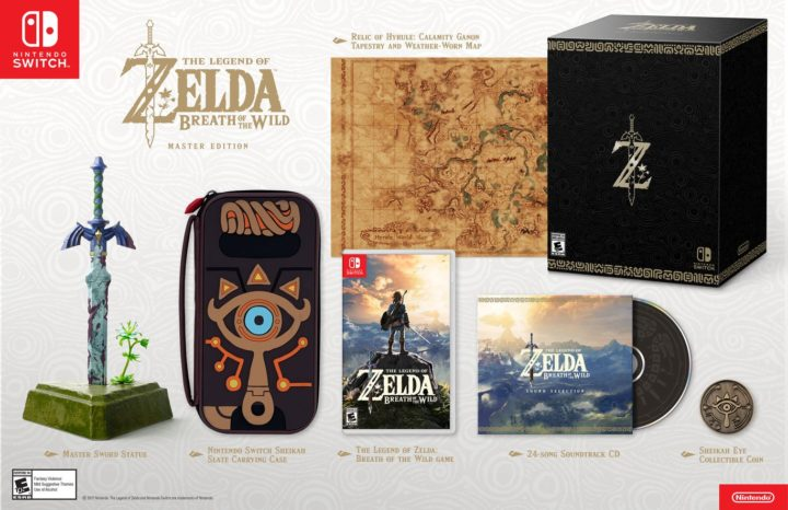 The Legend of Zelda Breath of the Wild & коллекционные издания