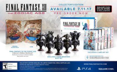 Коллекционное издание Final Fantasy XII The Zodiac Age