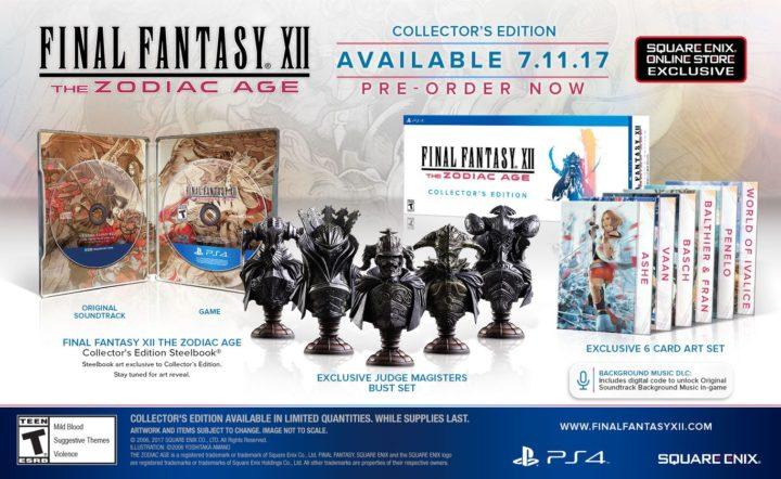 Final Fantasy XII & коллекционные издания