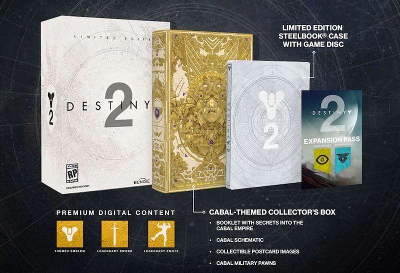 Ограниченное издание Destiny 2 Limited Edition