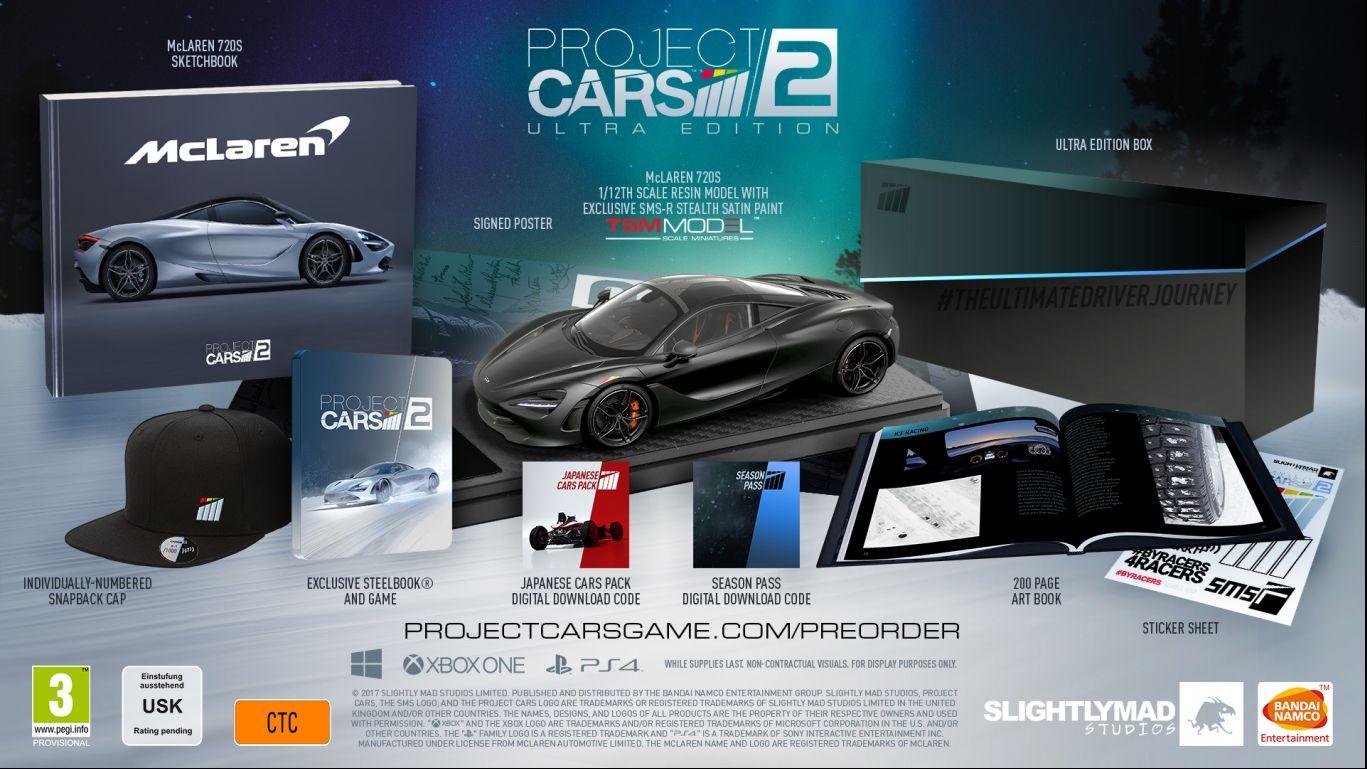 Коллекционное издание Project CARS 2 Ultra Edition