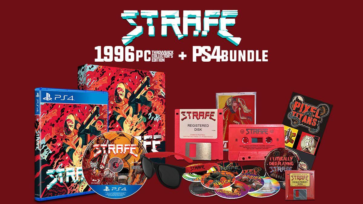 Коллекционное издание STRAFE Throwback Collector's Edition