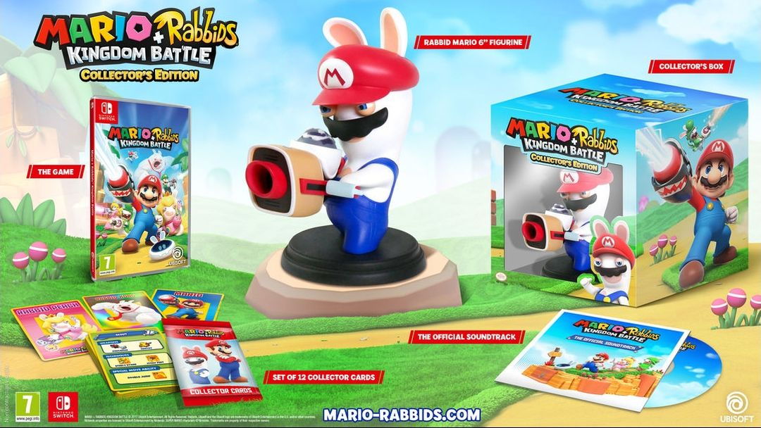 Коллекционное издание Mario + Rabbids Kingdom Battle Collector's Edition
