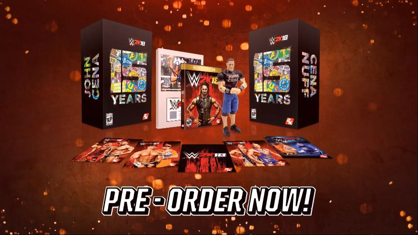 Коллекционное издание WWE 2K18 Cena (Nuff) Edition
