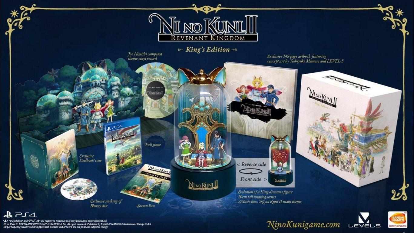 Коллекционное издание Ni no Kuni II Revenant KingdomKing's Editions