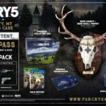 Far Cry 5 Hope County, MT Collector's Case (с головой оленя)