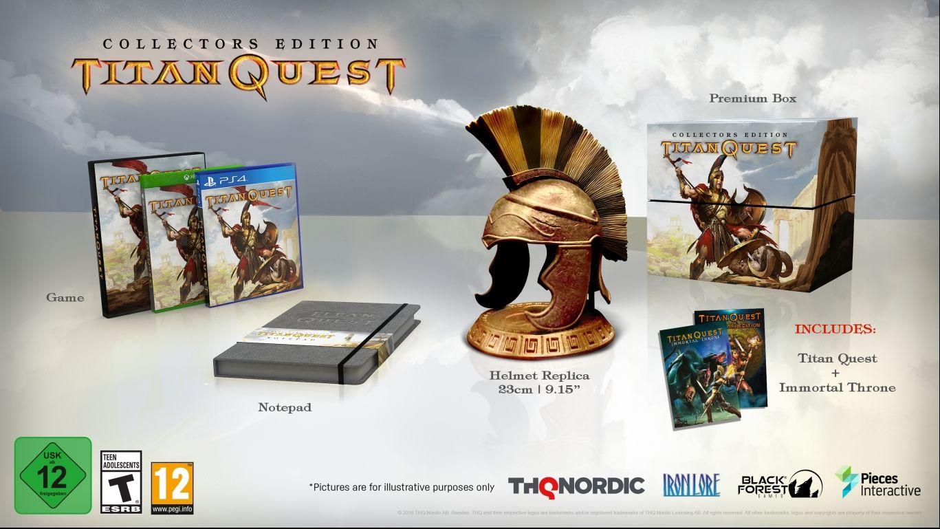 Коллекционное издание Titan QuestCollector's Edition