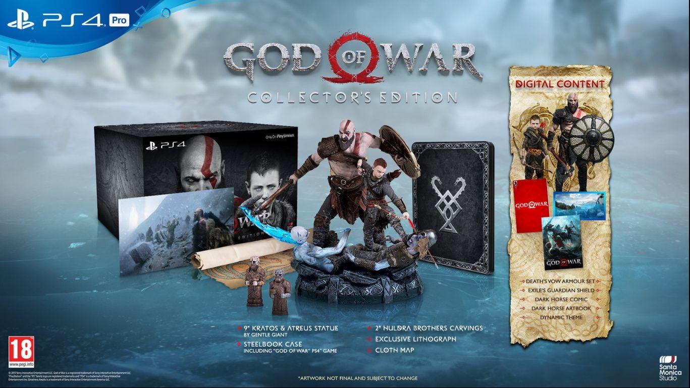 Коллекционное издание God of War Collector's Edition