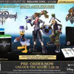 Kingdom Hearts III Deluxe Edition + Bring Arts Figures