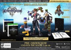 Kingdom Hearts III & коллекционные издания