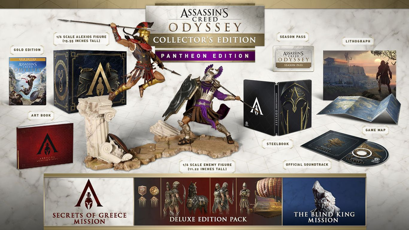 Assassin's Creed Odyssey Pantheon Edition ( Северная Америка)