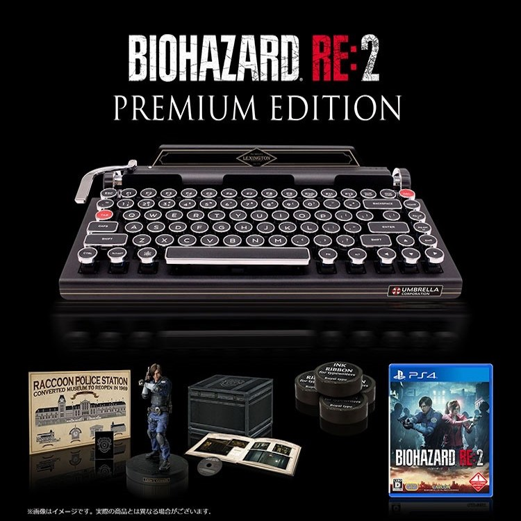 Biohazard RE2 Premium Edition