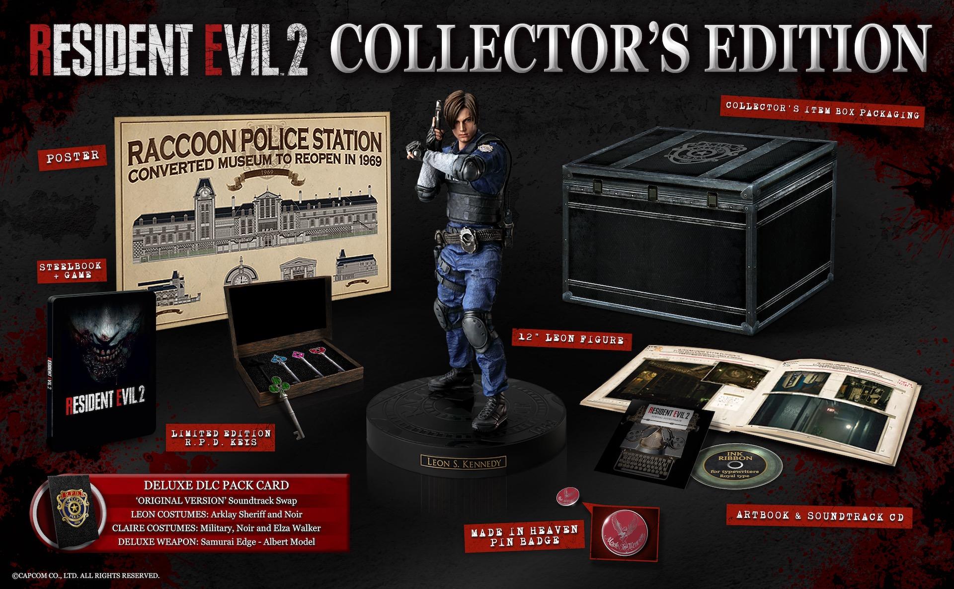 Коллекционное издание Resident Evil 2 Collector's Edition (PAL)