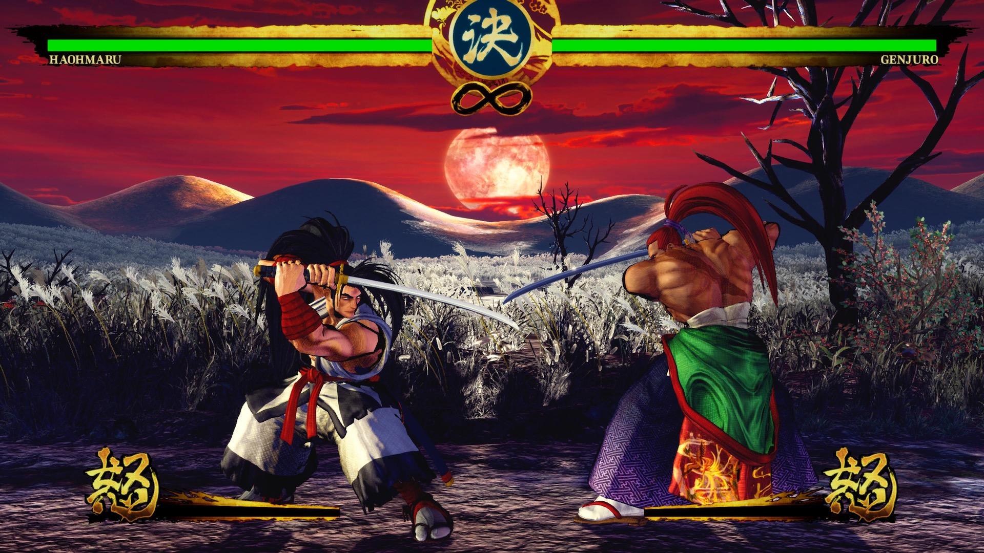 Раз самурай, два самурай - Samurai Shodown 1