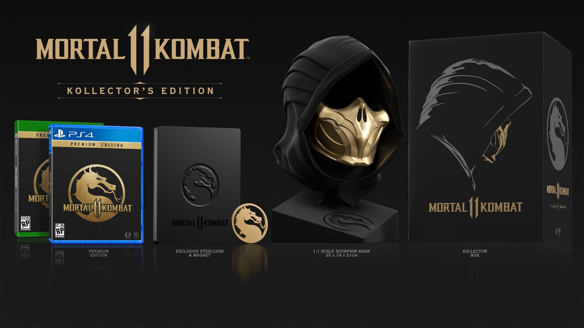 Коллекционное издание Mortal Kombat 11 Kollector's Edition