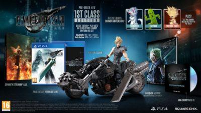 Коллекционное издание Final Fantasy VII Remake 1st Class Edition