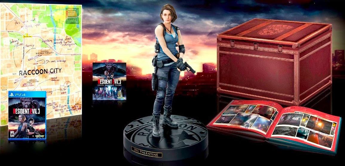 Коллекционное издание Resident Evil 3