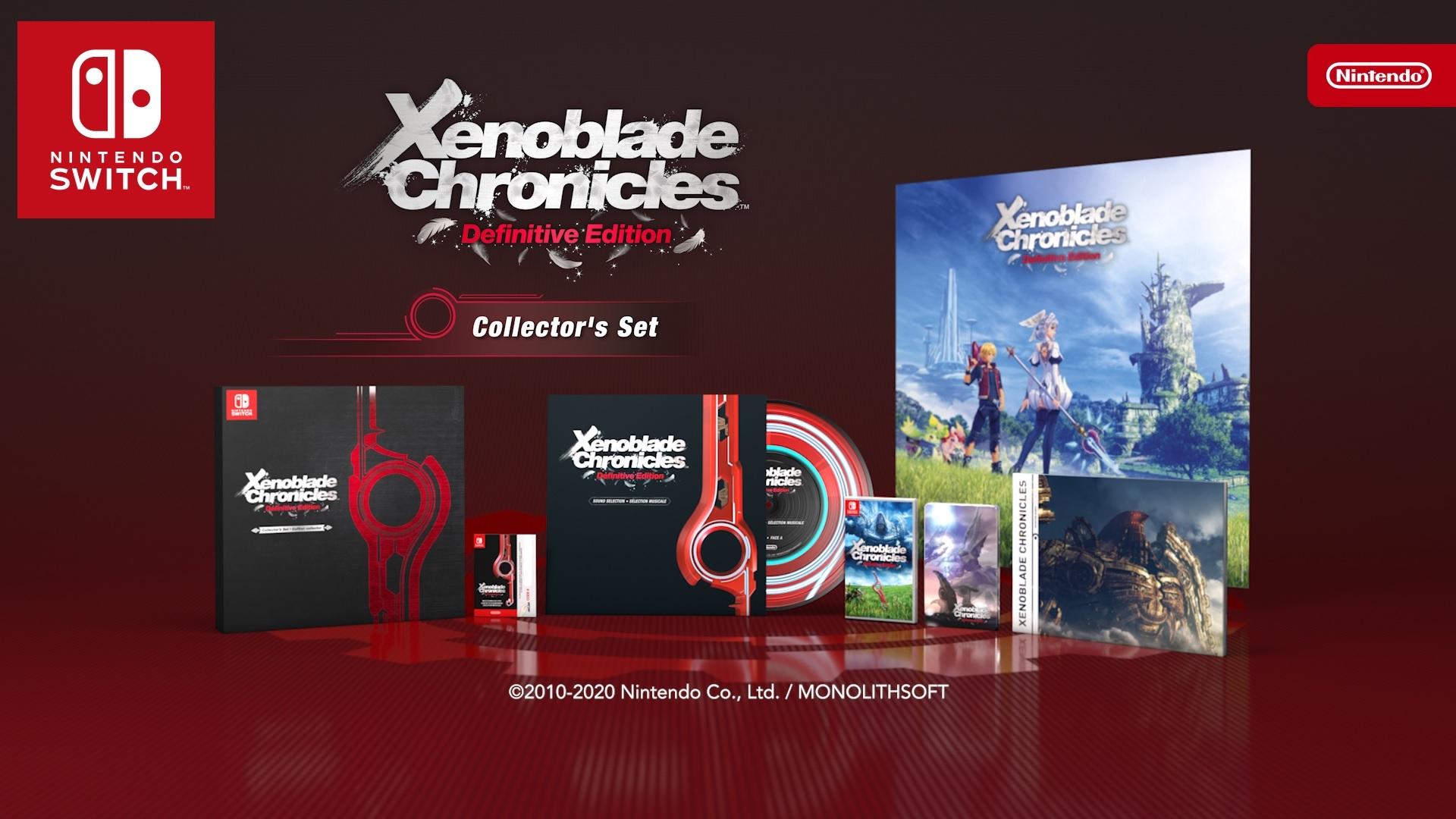 Коллекционное издание Xenoblade Chronicles Definitive Edition Collector's Set