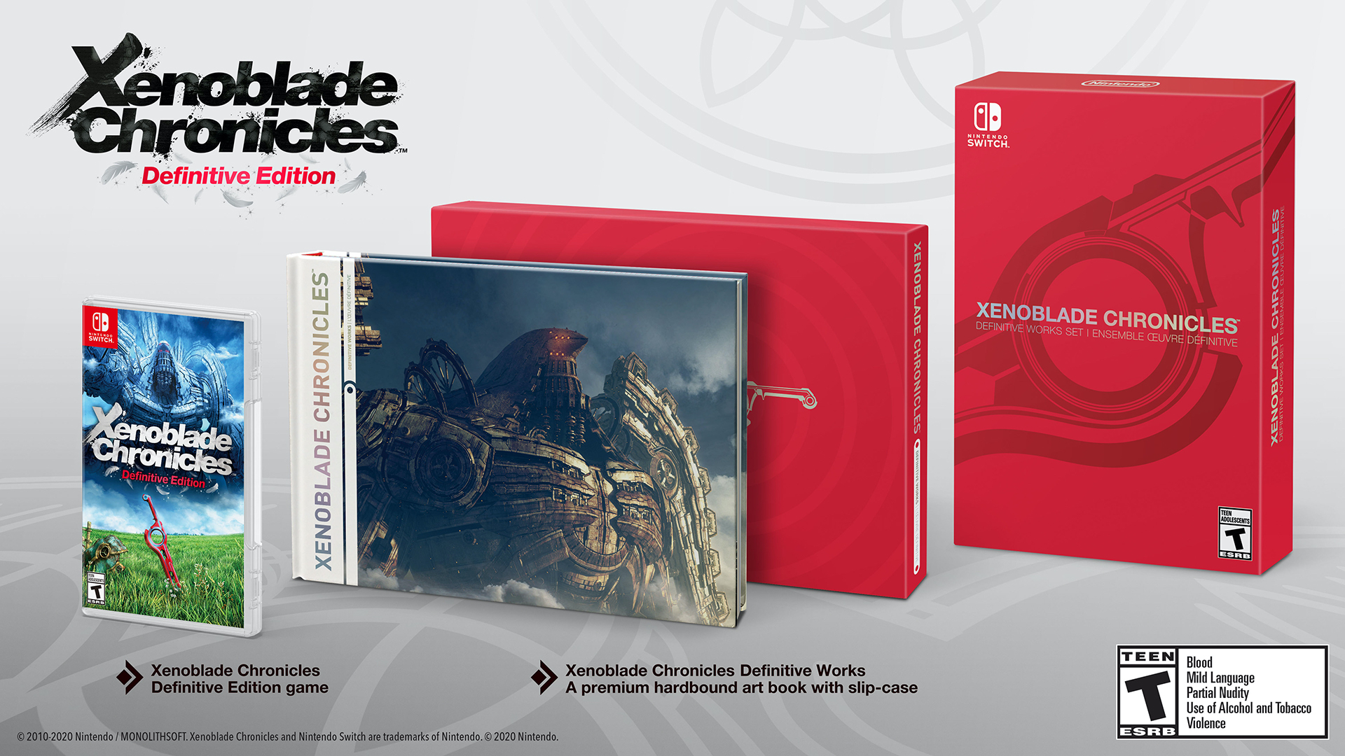 Xenoblade Chronicles Definitive Edition Works Set