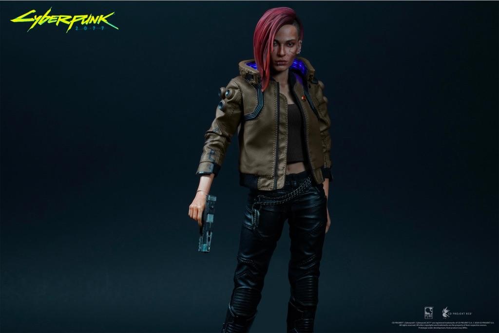 Фигурка Cyberpunk 2077 V Female (женщина) #2