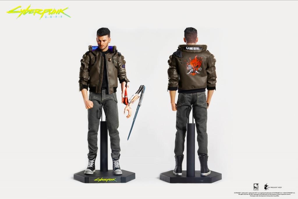 Фигурка Cyberpunk 2077 V Male (мужчина) #1
